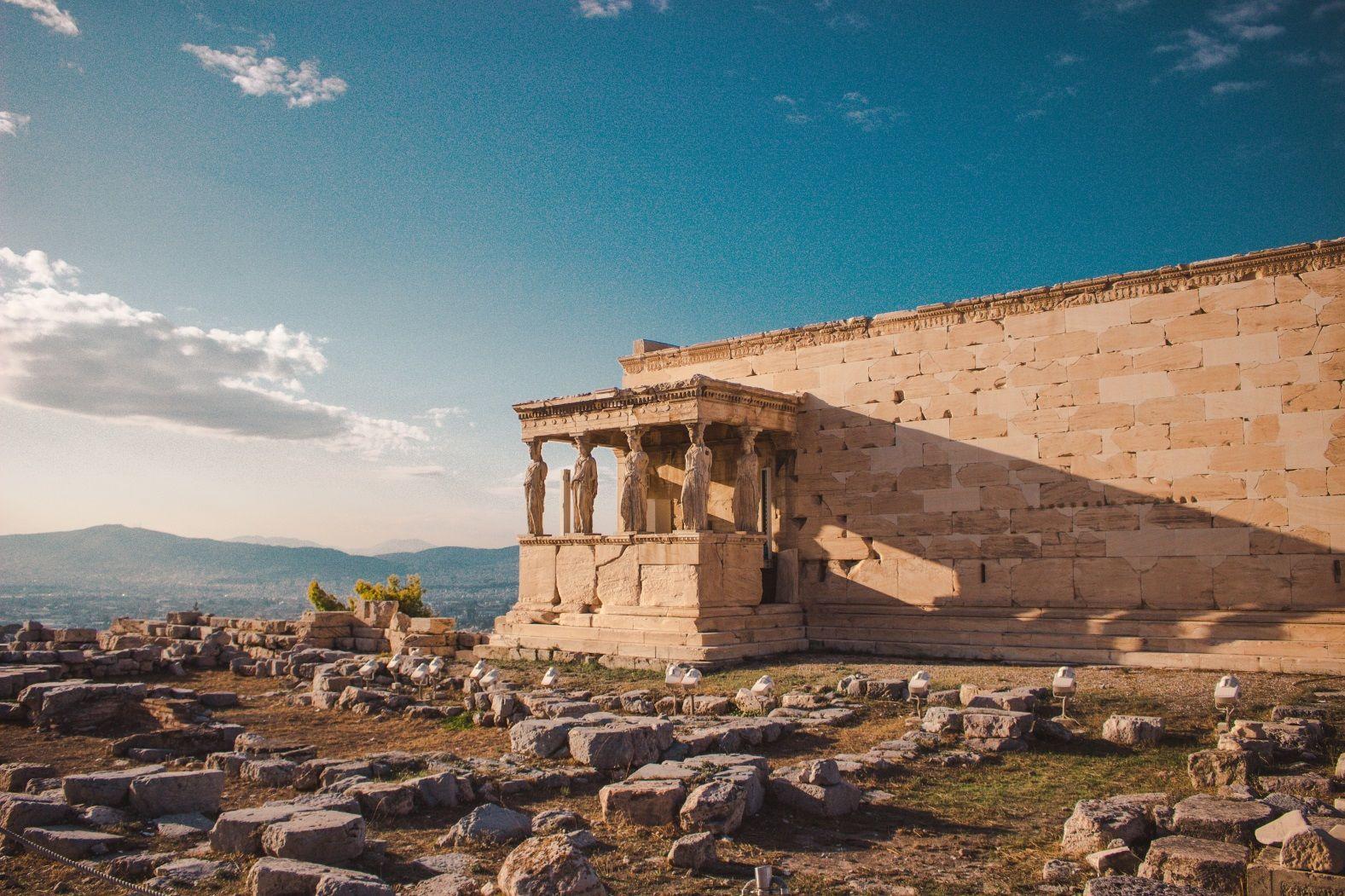 Афины Парфенон Греция