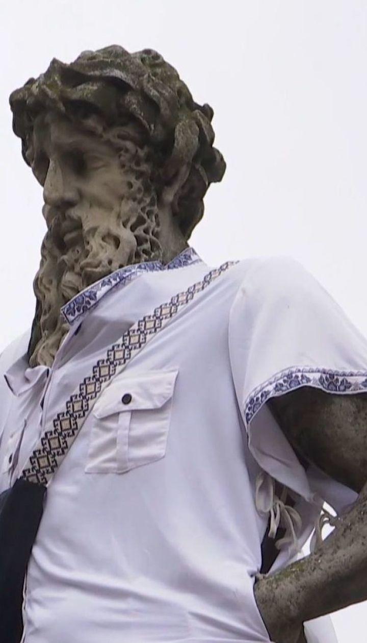 Вишиванки немовлятам та пам'ятникам: як свято відзначають у регіонах