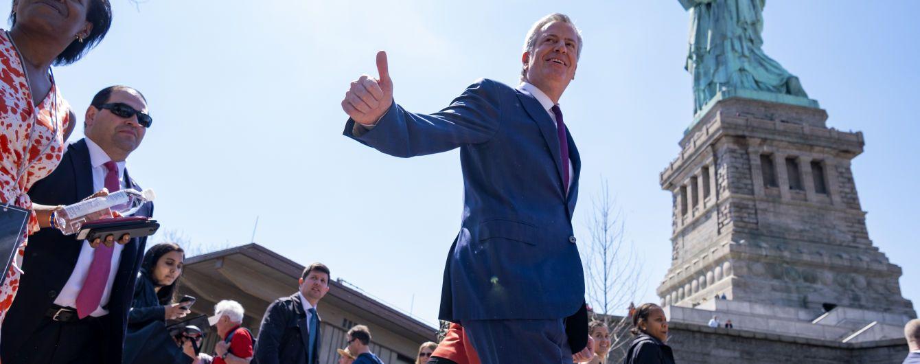 Мэр Нью-Йорка объявил, что идет в президенты США