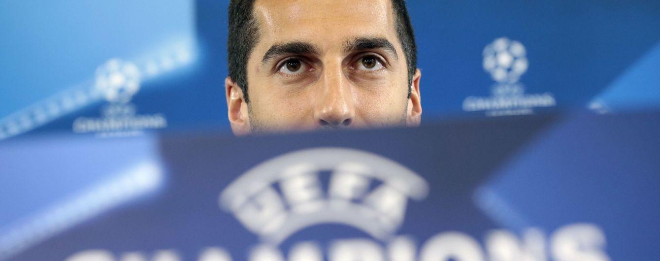 Мхітарян не поїде до Баку на фінал Ліги Європи задля безпеки — The Times