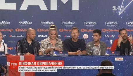 В Тель-Авиве завершился второй полуфинал Евровидения-2019