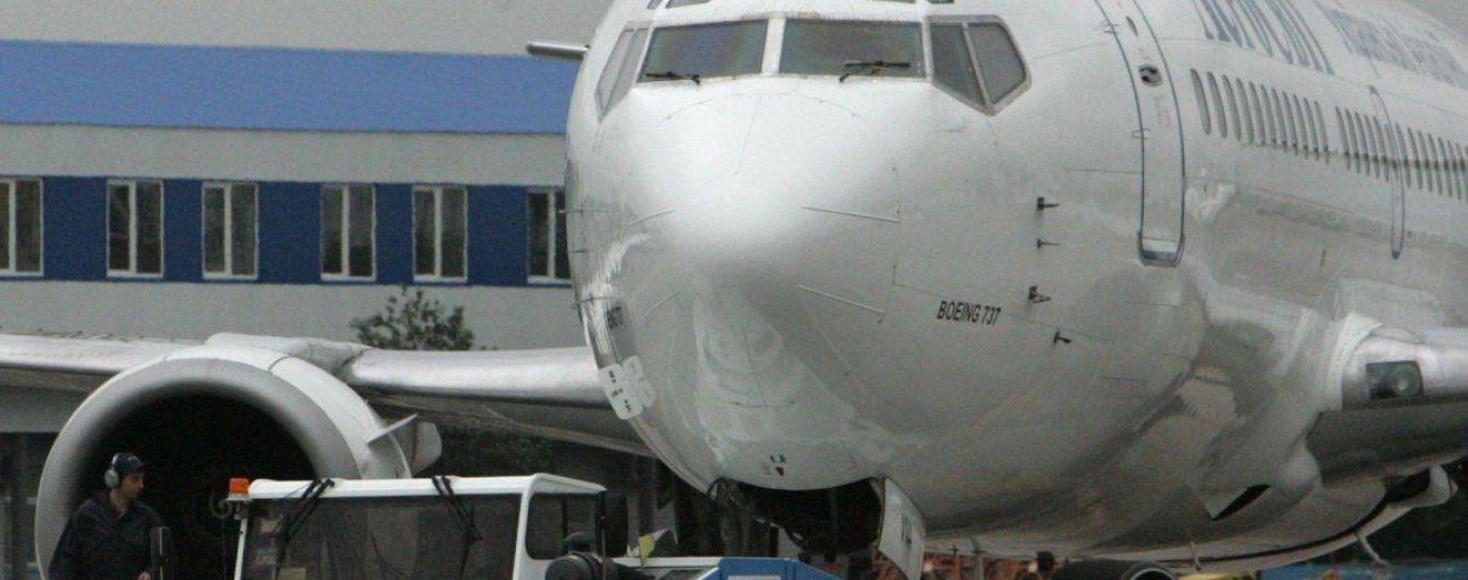 В Одессе экстренно сел самолет из-за сообщения о бомбе