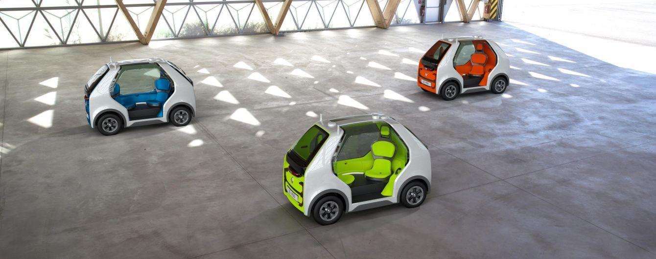 Renault представив мініатюрний безпілотник на базі Twizy
