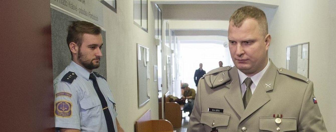 У Чехії суд виніс вирок військовому за допомогу бойовикам ОРДЛО