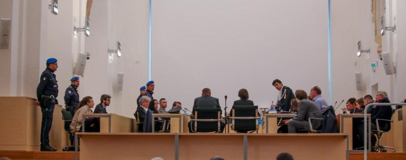 Українські військові прибули на суд до Італії підтримати гвардійця Марківа