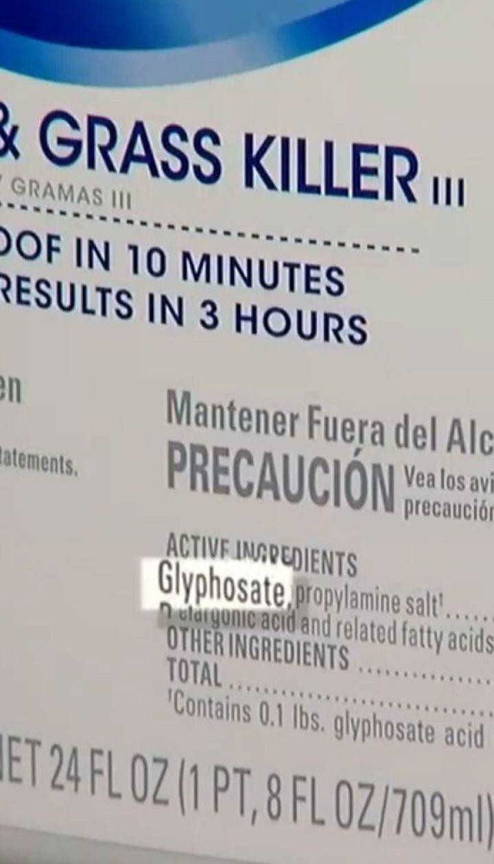 Препарат, який може викликати рак, посідає 6 частину українського ринку гербіцидів