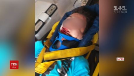 15-летний парень сорвался с железнодорожного моста в Харькове