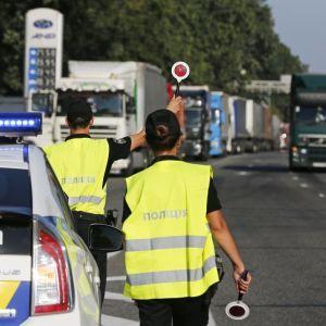 Поліція попередила про обмеження руху у Києві через інавгурацію Зеленського
