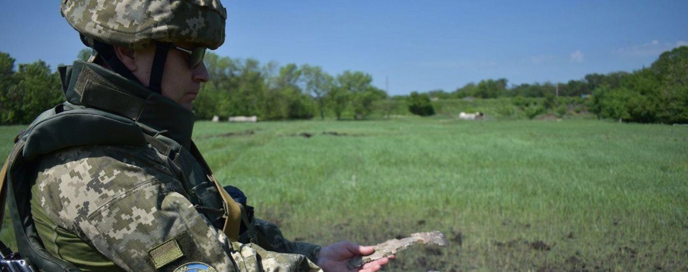 Боевики из артиллерийских систем обстреляли жилые дома на Донбассе