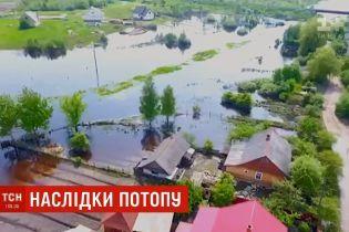 Затопленное село на Ровенщине: убытки достигли 10 млн гривен
