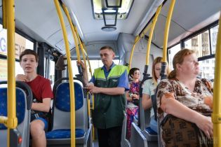 Через інавгурацію Зеленського змінять низку автобусних маршрутів