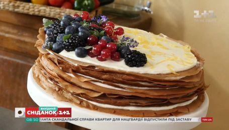 Блинный торт - сладкое воскресенье