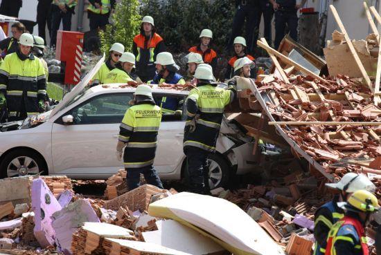 В Німеччині стався потужний вибух у житловому будинку
