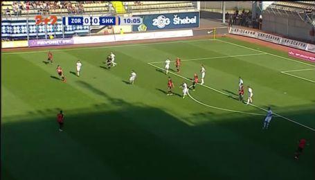 Заря - Шахтер - 0:1. Видео гола Мораеса