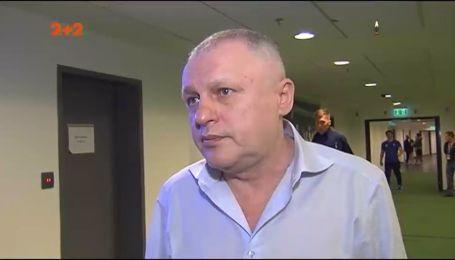 """Суркис: """"Михайличенко как новый тренер Динамо? Думаю над этим """""""