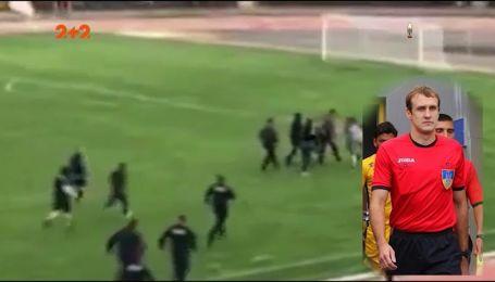 Линчевание во второй лиге: за что избили арбитра матча Нива Винница - Полесье