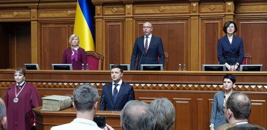 Зеленський назвав своїм першим завданням припинення вогню на Донбасі