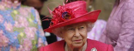 Яка гарна: 93-річна королева Єлизавета II стала найяскравішою гостею на весіллі леді Габріелли Віндзор