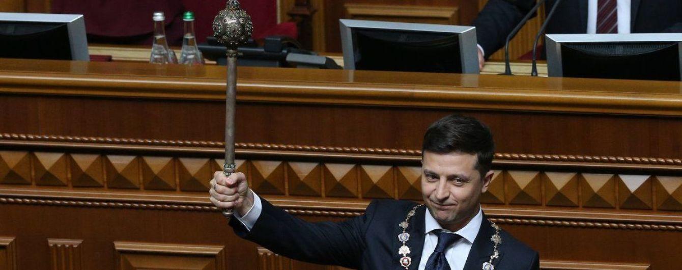 Сайт Администрации президента обновился под Зеленского