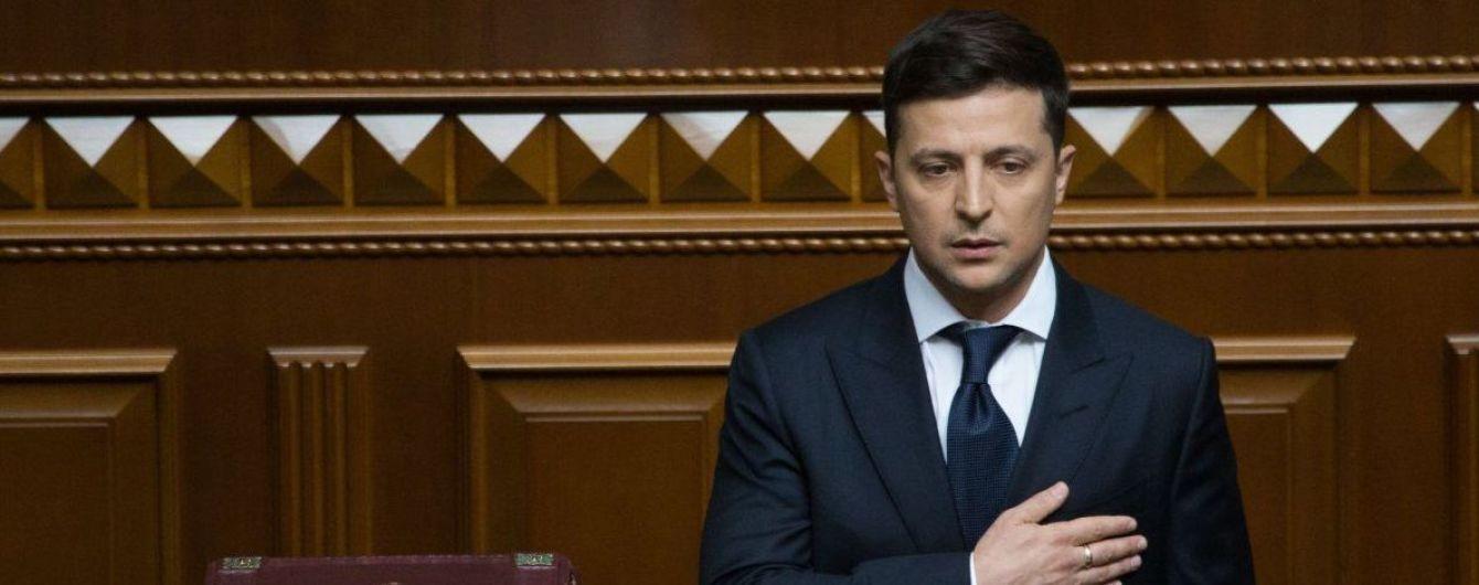 Роспуск парламента, первые задачи и призывы к увольнению: ключевые тезисы из первой речи Зеленского