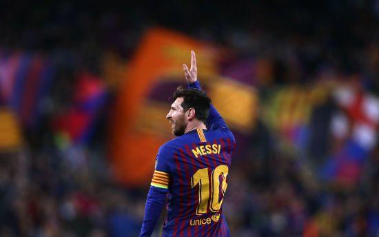 """Рекорд Мессі. Лео знову """"розриває"""" Примеру і вшосте забив не менше 50 м'ячів за """"Барселону"""""""