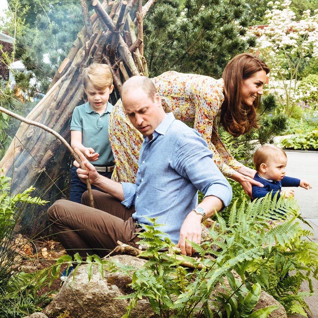 принц Вільям та Кейт з дітьми_5