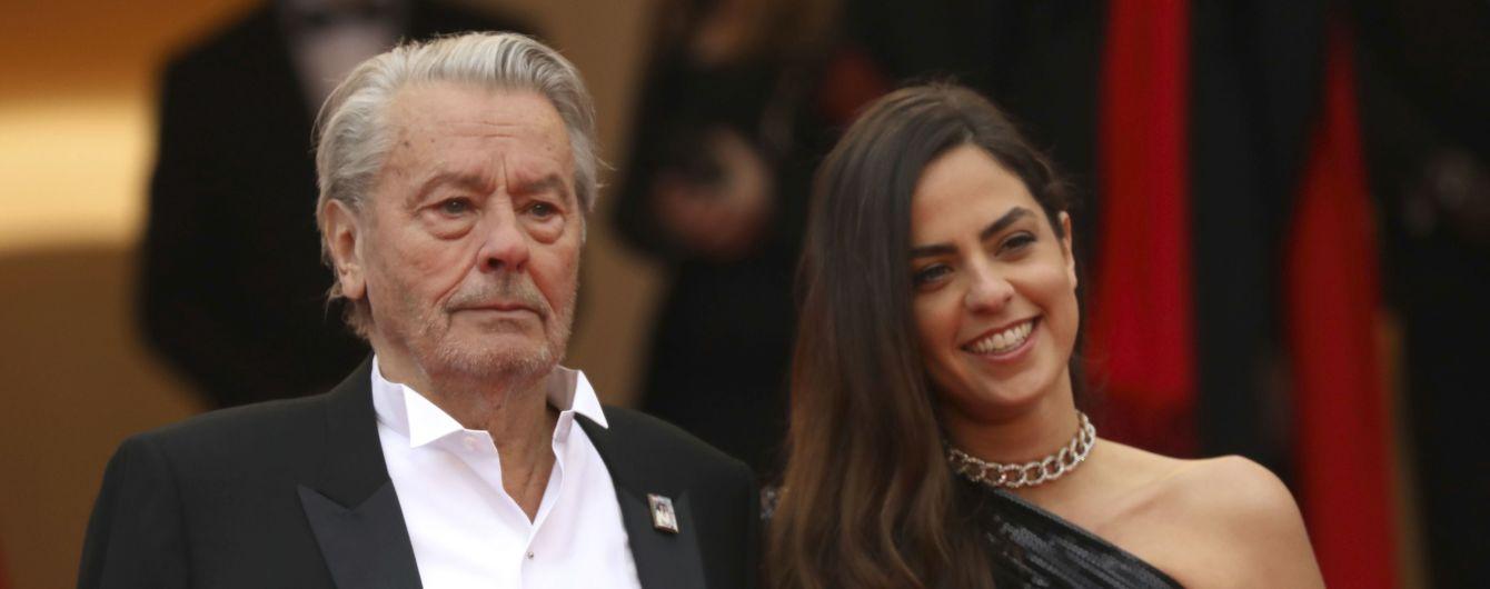 83-річний Ален Делон з'явився на Каннському кінофестивалі у супроводі доньки