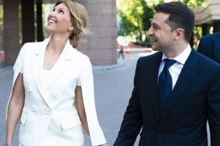 Костюм первой леди Зеленской пошил украинский дизайнер специально под инаугурацию