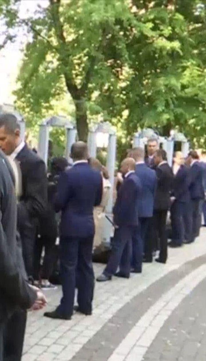 Навколо центру столиці утворилося чимало заторів через інавгурацію президента