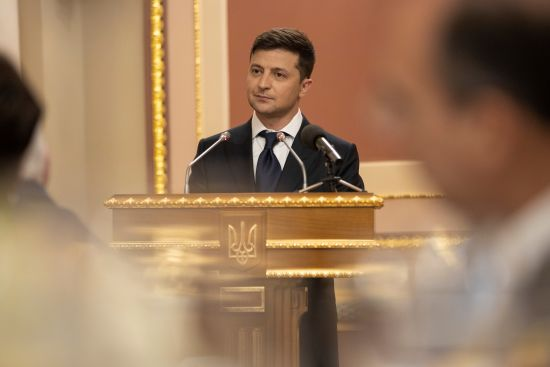 В АП розсекретили стенограму закритої зустрічі Зеленського з керівництвом Ради. Повний текст