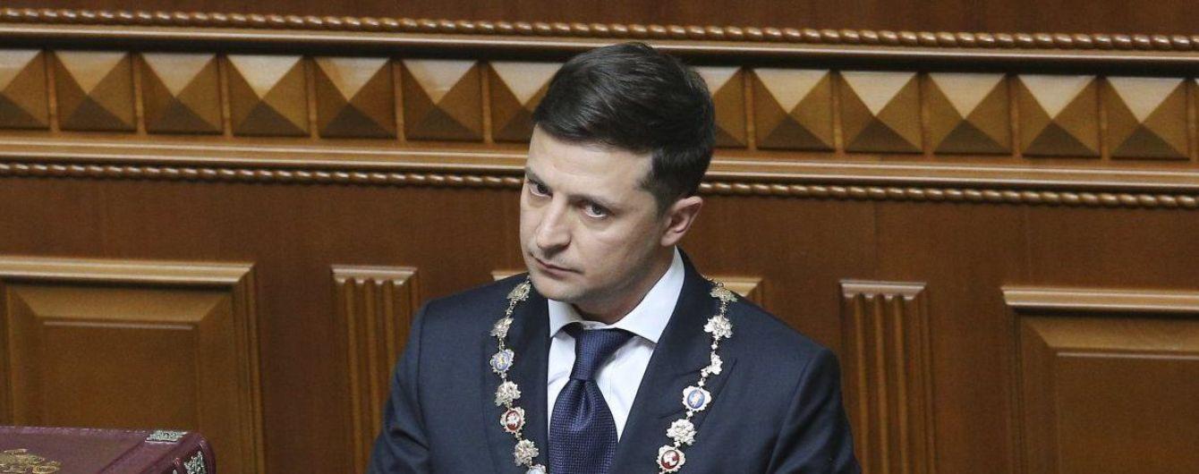 На сайте президента Украины опубликовали первый указ Зеленского