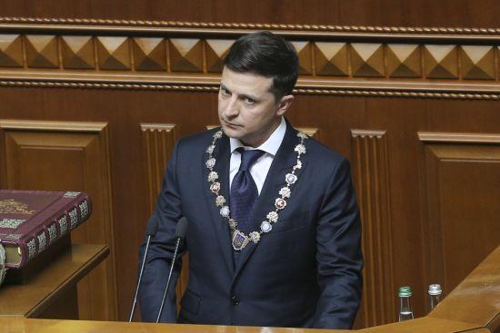 На сайті президента України опублікували перший указ Зеленського