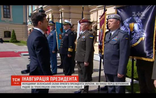 Глава СБУ і командувач ССО порушили статут і не віддали честь Володимиру Зеленському