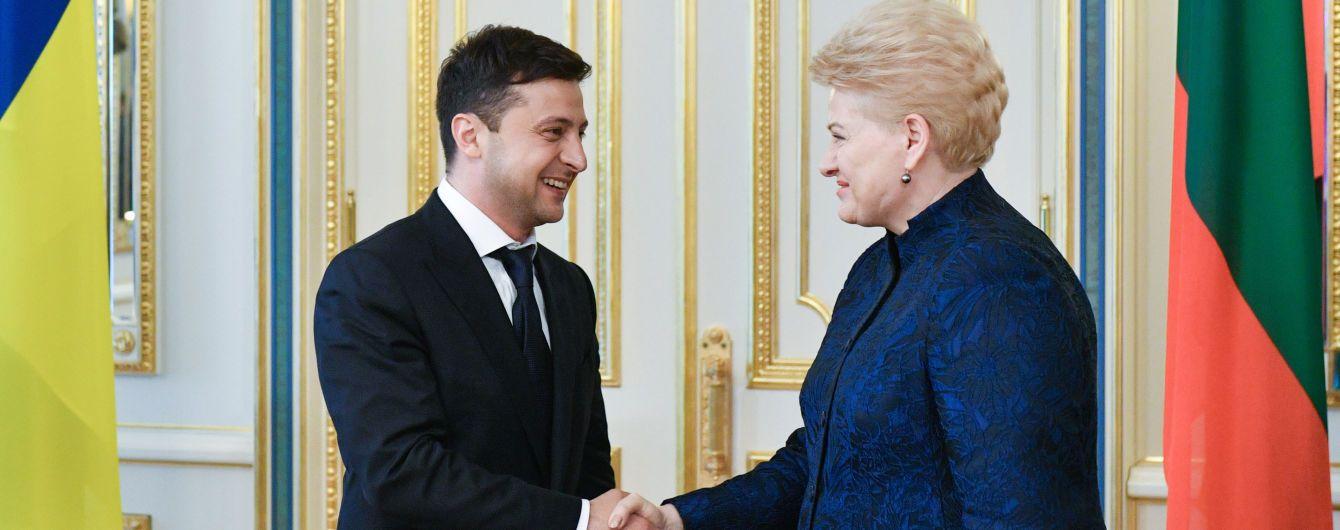 Зеленский принял президентов Литвы, Латвии и Венгрии