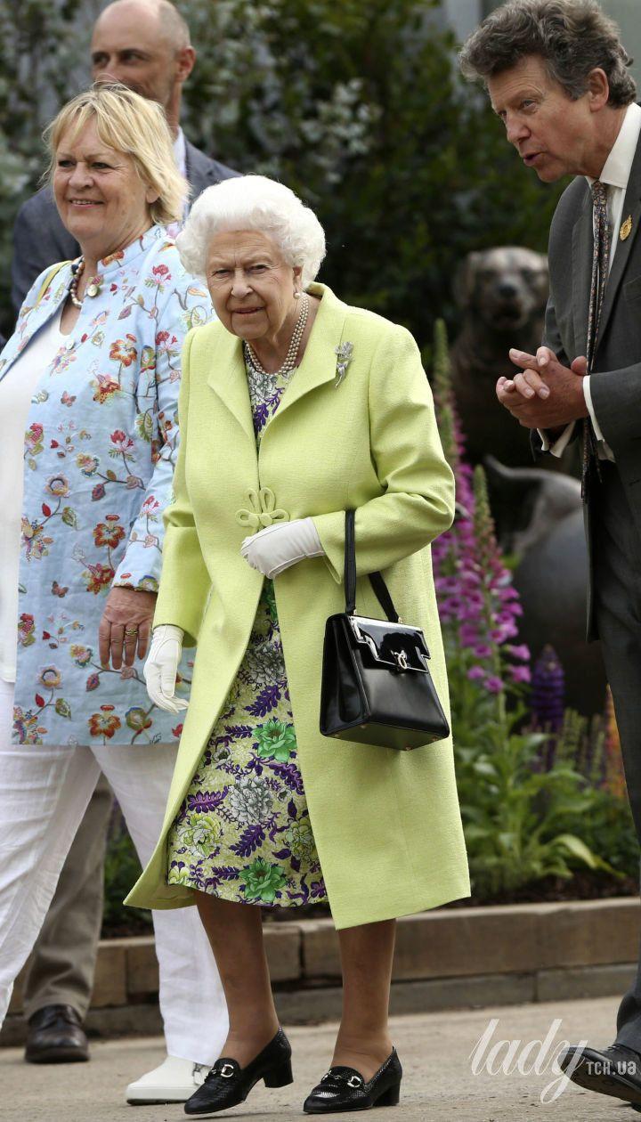 Герцогиня Кембриджская и королева Елизавета II