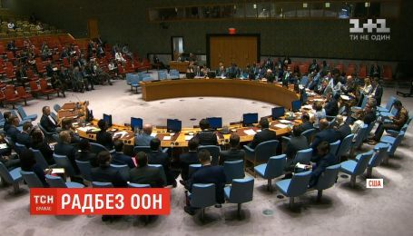 Рада безпеки ООН відмовились розглядати закон про українську мову