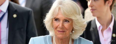 Голубой ей к лицу: 71-летняя герцогиня Корнуольская на мероприятии в Ирландии