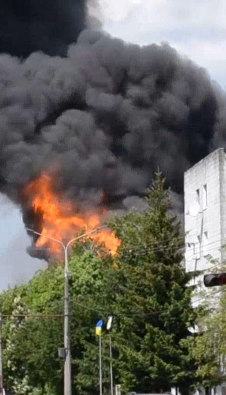Унаслідок пожежі на житомирські заправці постраждали двоє людей