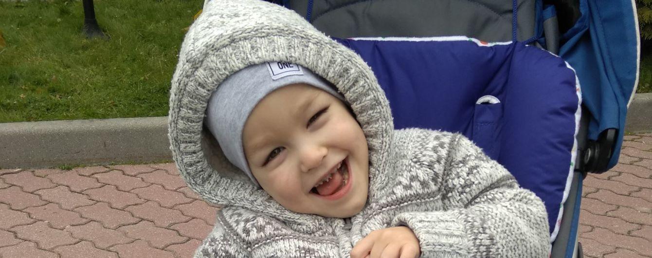 Мама Владика просит помочь ей вылечить сына