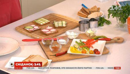 Освежающие бутерброды от Руслана Сеничкина
