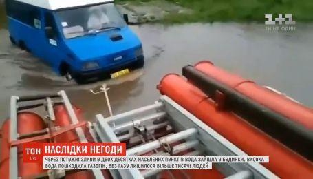 На Прикарпатье высокая вода смыла в реку 62-летнего мужчину