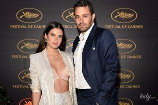 В лифчике и в обнимку с любимым: Сара Сампайо на вечеринке в Каннах