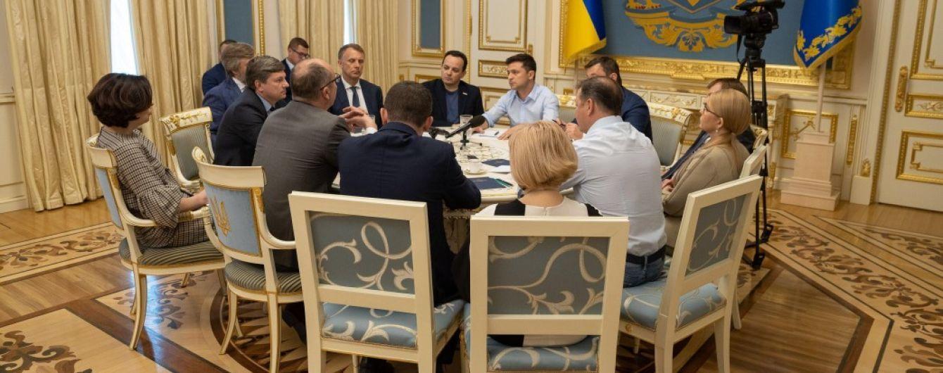 У Зеленского пообещали обнародовать видео встречи с лидерами фракций относительно роспуска Рады