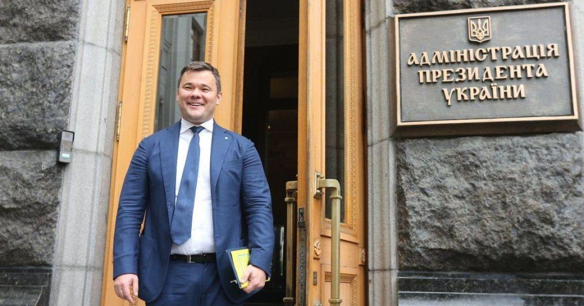 Первое интервью нового главы АП: Богдан рассказал о главных задачах, отношениях с РФ и стиле власти Зеленского