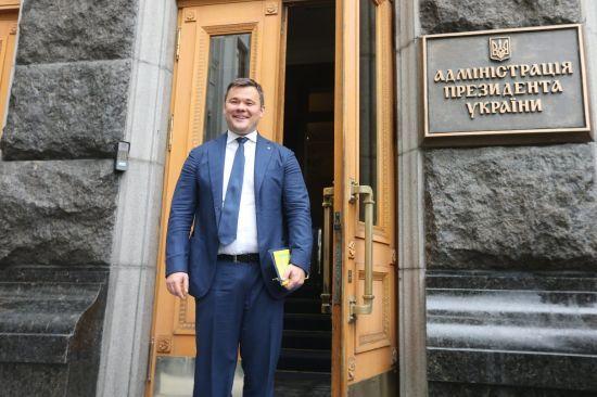 Перше інтерв'ю нового глави АП: Богдан розповів про головні завдання, стосунки з РФ і стиль влади Зеленського