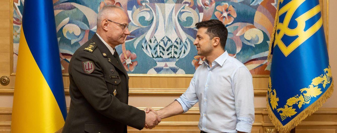 Меньше советского, больше западного: Зеленский прокомментировал назначение Хомчака главнокомандующим ВСУ