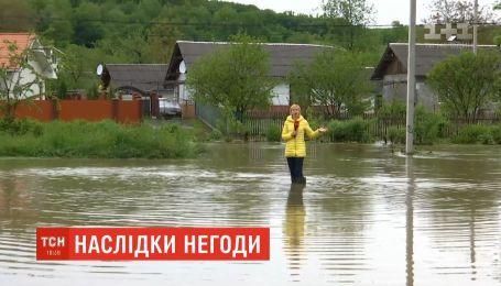 За сутки на Прикарпатье выпала треть осадков месячной нормы - синоптики