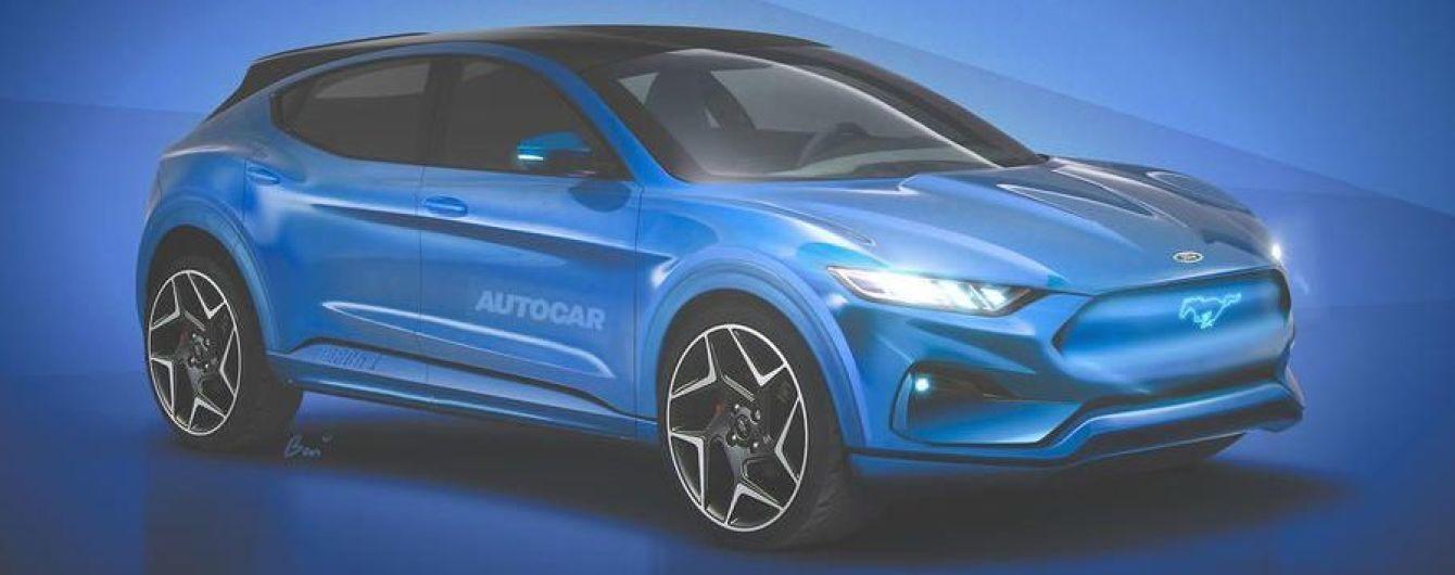 Электрокар на базе Ford Mustang покажут уже в 2019 году