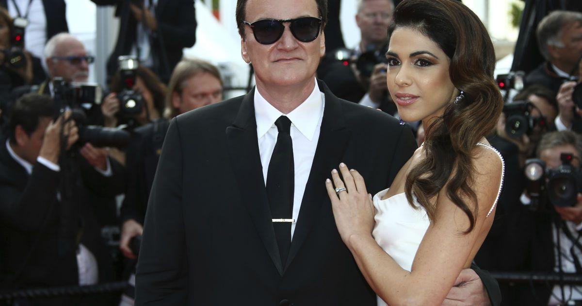 Квентин Тарантино с женой Даниэлой Пик @ Associated Press