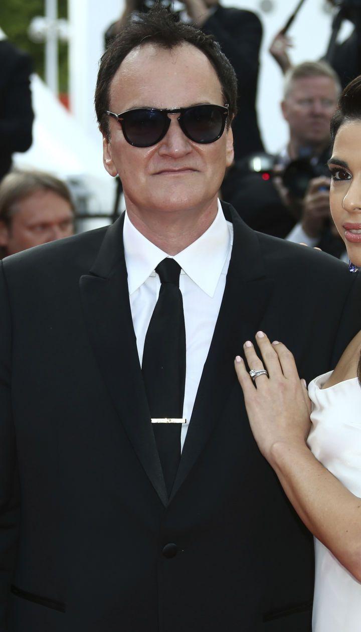 Квентин Тарантино с женой Даниэлой Пик